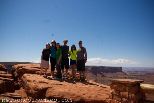 Canyonlands National Park with friends