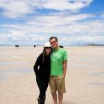 Jenn and Brent Antelope Island State Park UT