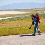 Piggyback Ride Antelope Island UT