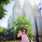 Saying Goodbye in Salt Lake City