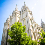 Temple at Temple Square Salt Lake City UT