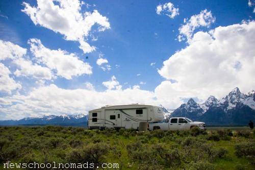 RV Grand Tetons National Park