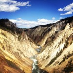 The Grand Canyon of Yellowstone WY