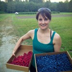 Berry Picking Cascade Farm WA