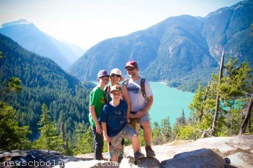 Family North Cascades National Park WA