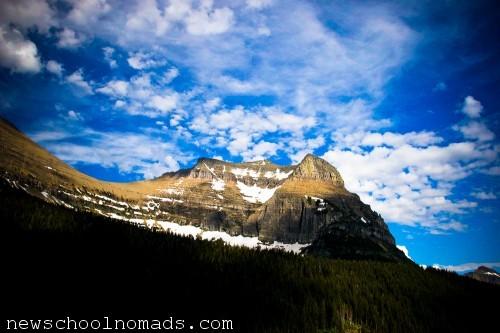 Glacier NP Mountain