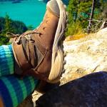 Hiking Boots Cascade National Park WA