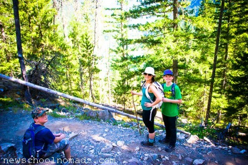 Hiking with my Boys North Cascades NP WA