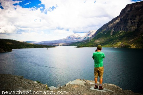 Picture Taking Glacier NP