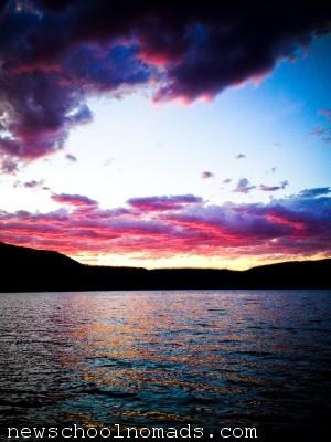 Sunset Glacier NP