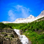 Waterfall Glacier NP MT