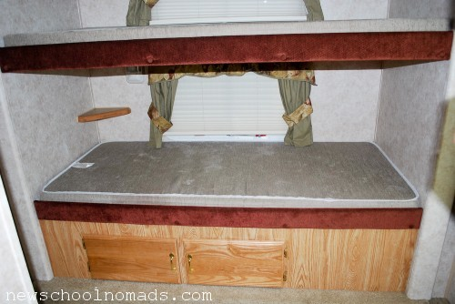 RV Before Bunk Room