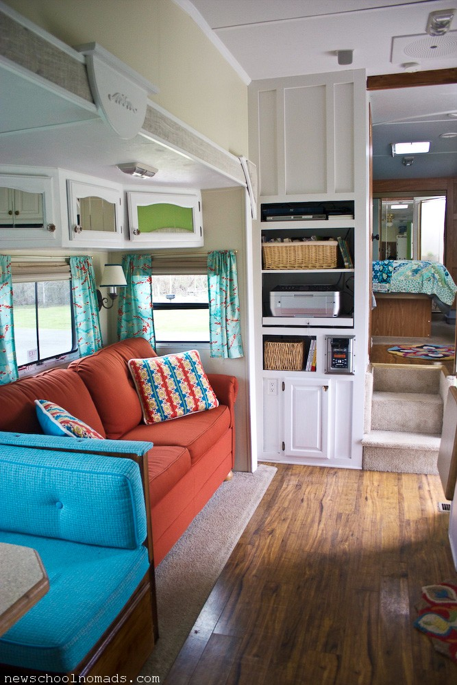 RV Redecorated Living Room 3 | Newschool Nomads