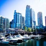 Harbor in Vancouver Canada