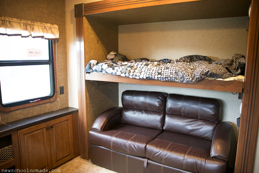 Fifth wheel 5 slide bunkhouse autos post for 2 bathroom 5th wheel