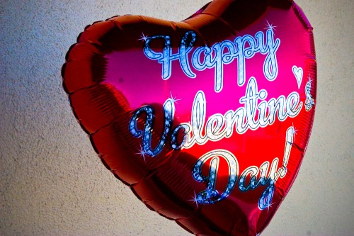 Vlanetines Day Balloon FL