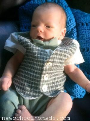 Baby Bowtie Easter FL