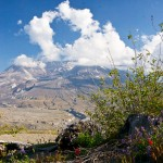 Clouds Mt St Helens WA