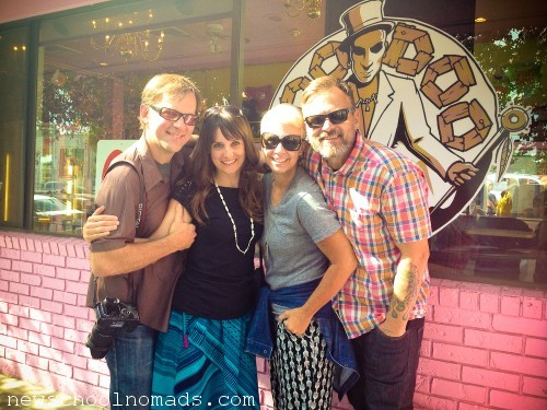 Friends at Voodoo Doughnuts OR