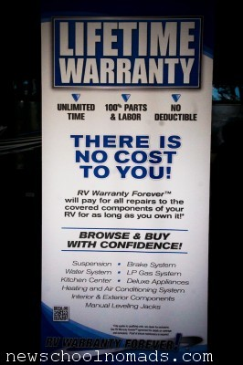 Lifetime RV Warranty