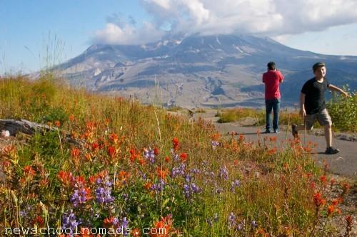 Running Mt St Helens WA