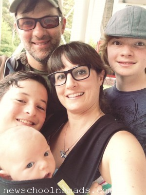 Family Selfie Stone Mountain GA