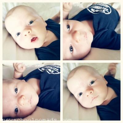 natural baby week 6