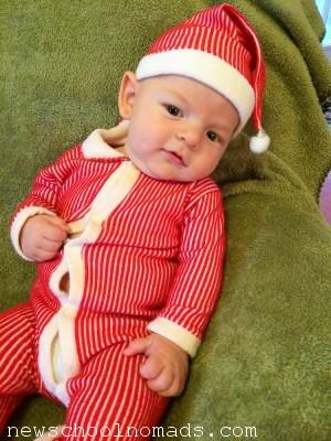 Thing 3 Week 10 Christmas Suit 5 IN