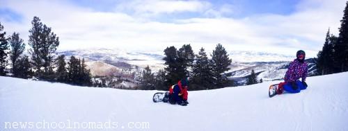 Panorama Snowboarding Park City UT