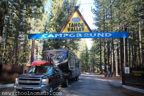 RV Tahoe Valley CA