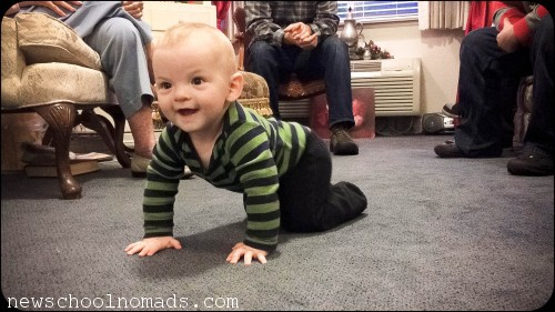 Thig 3 crawls first time CA