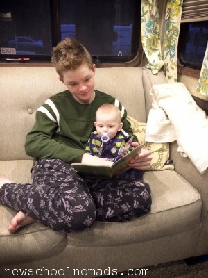 Thing 1 Reading to Thing 2 CA