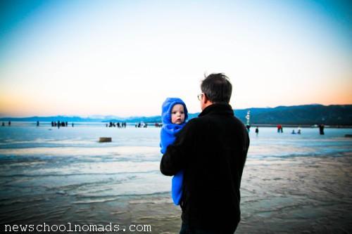 Thing 3 Brent Lake Tahoe Winter Sunset CA