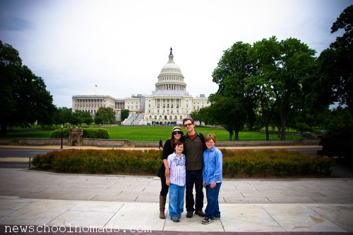 Family at Capital Washington DC