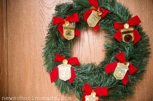 Jr Ranger Christmas Wreath