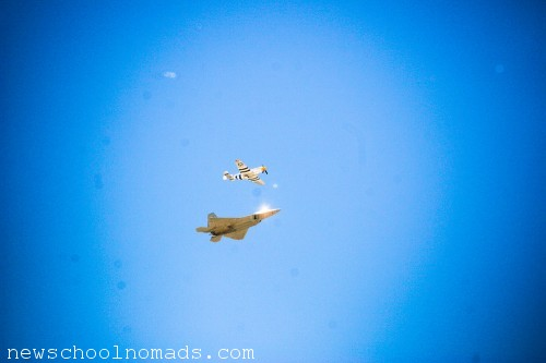 F22 Raptor Airshow