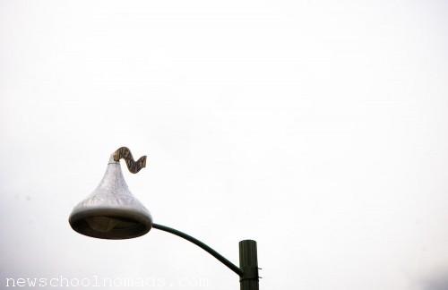 Hershey Kiss Street Light PA