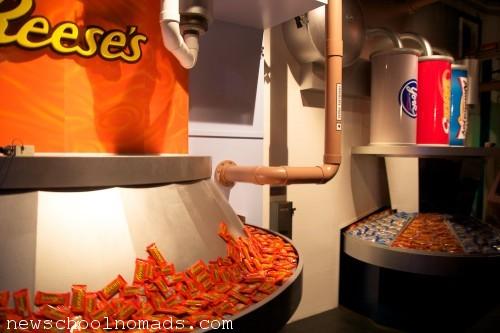 Inside Hershey Chocolate World