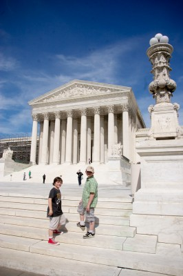 Outside Supreme Court DC