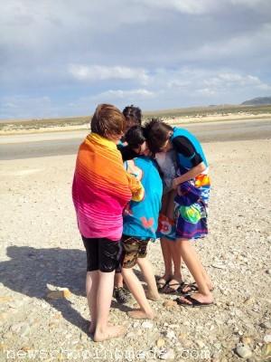 Burrrr Antelope Island Great Salt Lake UT