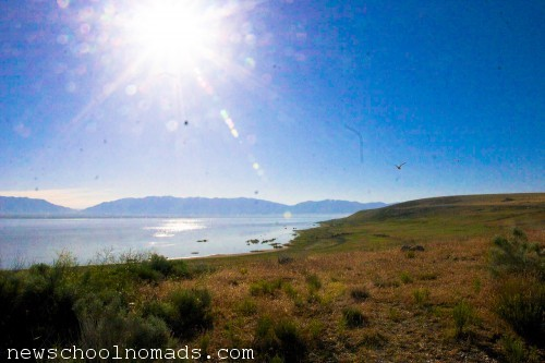Sunrise Antelope Island UT