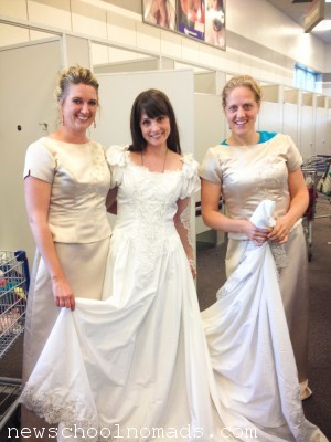 Thrift Store Wedding Dress Provo UT