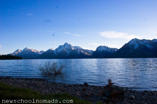 Lake Grand Tetons NP