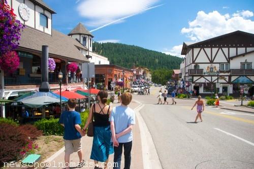 Family Trip Leavenworth WA