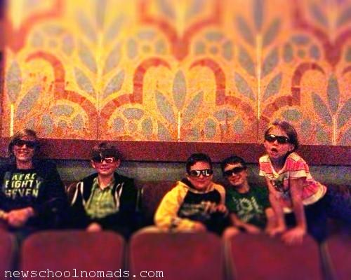 Historic Movie Theatre Anaconda Mt