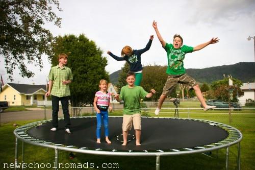 Jump jump Butte Mt
