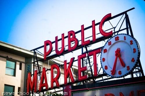 Public Market Seattle WA