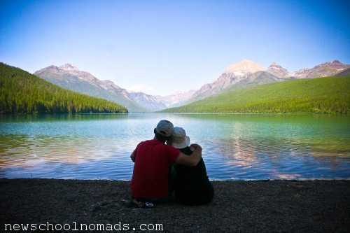 Romantic Glacier NP Mt