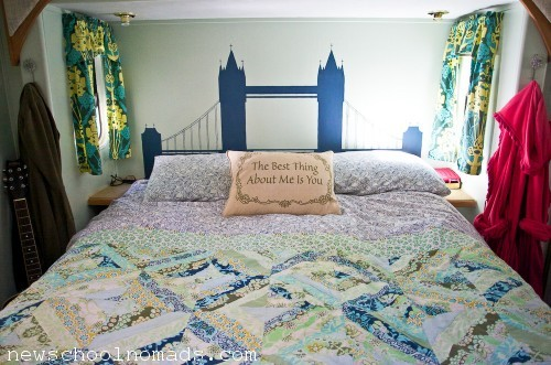 RV London Bridge Headboard