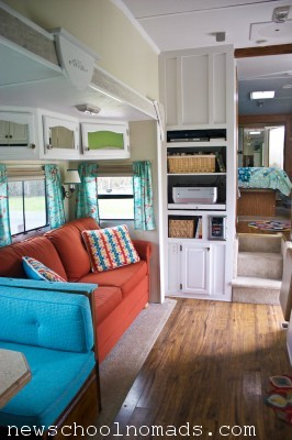 RV Redecorated Living Room 3